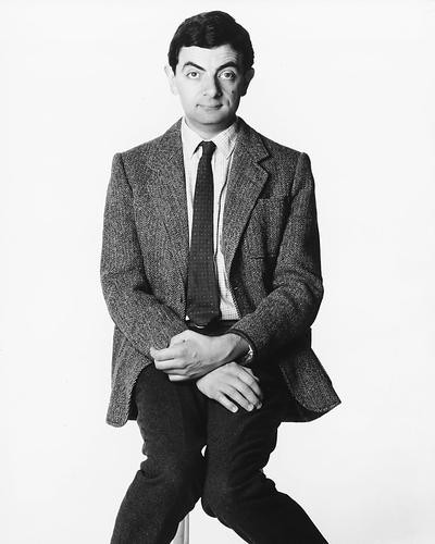 This is an image of 179435 Rowan Atkinson Photograph & Poster