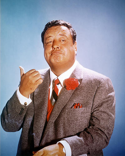 This is an image of 266365 Jackie Gleason Photograph & Poster