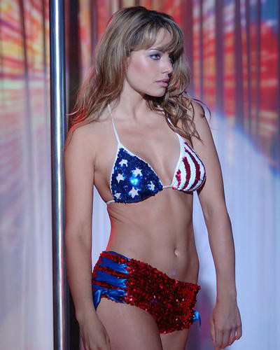 This is an image of 270934 Erica Durance Photograph & Poster