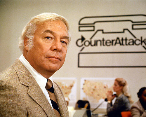 This is an image of 265021 George Kennedy Photograph & Poster