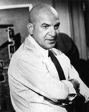 This is an image of 194549 Telly Savalas Photograph & Poster