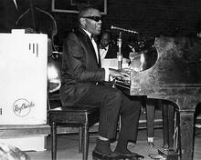 This is an image of 194615 Ray Charles Photograph & Poster