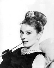 This is an image of 194416 Audrey Hepburn Photograph & Poster
