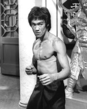This is an image of 186033 Bruce Lee Photograph & Poster