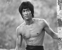 This is an image of 189036 Bruce Lee Photograph & Poster