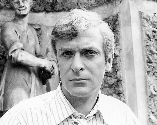 This is an image of 193611 Michael Caine Photograph & Poster