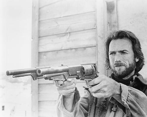 This is an image of 193667 Clint Eastwood Photograph & Poster