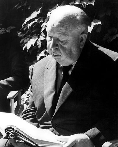 This is an image of 194011 Alfred Hitchcock Photograph & Poster