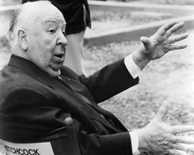 This is an image of 194013 Alfred Hitchcock Photograph & Poster