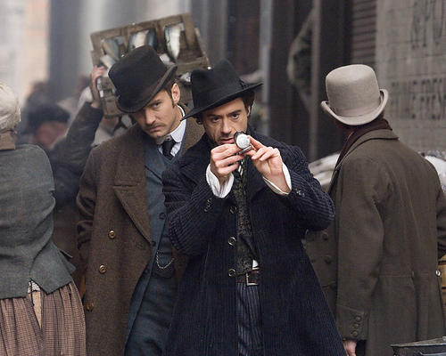 This is an image of 280530 Sherlock Holmes Photograph & Poster
