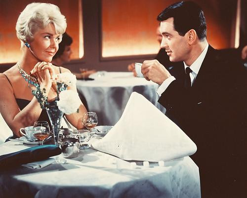 This is an image of 247382 Rock Hudson & Doris Day Photograph & Poster