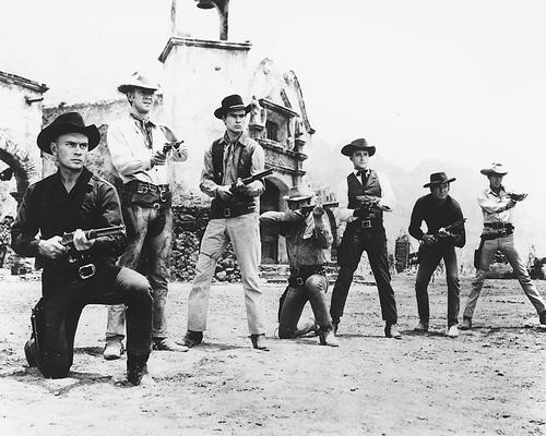This is an image of 171259 The Magnificent Seven Photograph & Poster