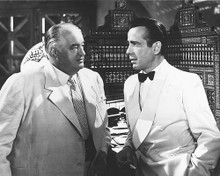This is an image of 172291 Humphrey Bogart and Sidney Greenstreet Photograph & Poster
