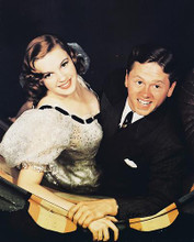 This is an image of 231861 Judy Garland & Mickey Rooney Photograph & Poster