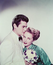 This is an image of 233454 Tony Curtis & Janet Leigh Photograph & Poster