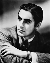 This is an image of 169370 Tyrone Power Photograph & Poster