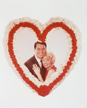 This is an image of 243610 Rock Hudson & Doris Day Photograph & Poster