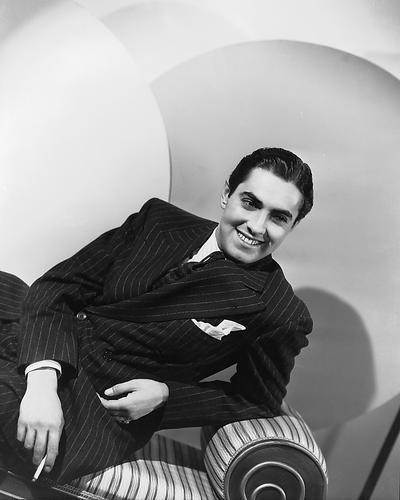 This is an image of 172170 Tyrone Power Photograph & Poster
