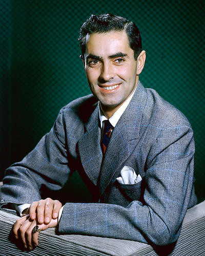 This is an image of 248561 Tyrone Power Photograph & Poster