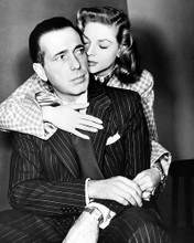 This is an image of 187703 Humphrey Bogart and Lauren Bacall Photograph & Poster