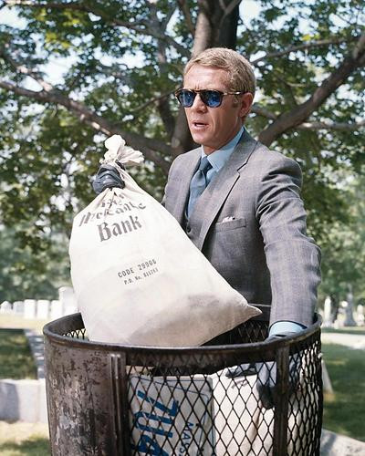 This is an image of Photograph & Poster of Steve McQueen 284240