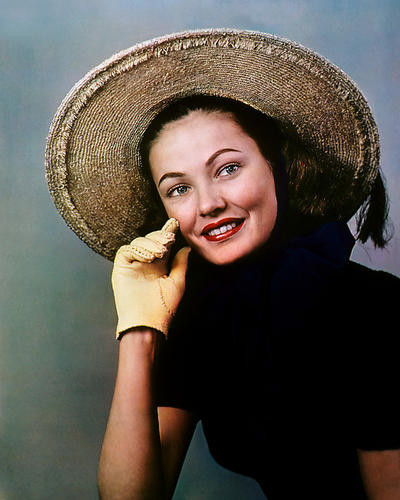 This is an image of Photograph & Poster of Gene Tierney 285505