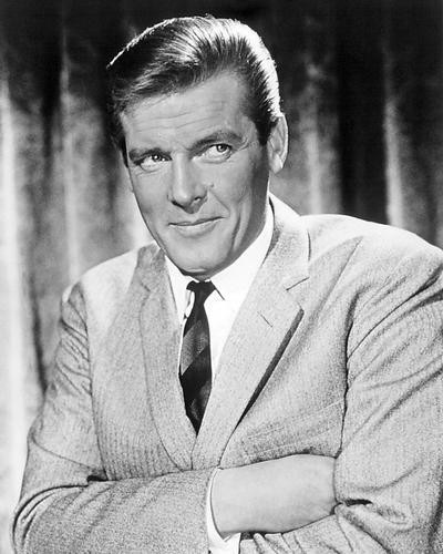 This is an image of Photograph & Poster of Roger Moore 194945