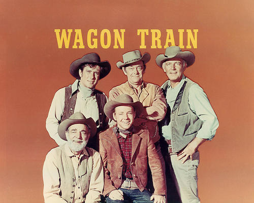 This is an image of Photograph & Poster of Wagon Train 284755