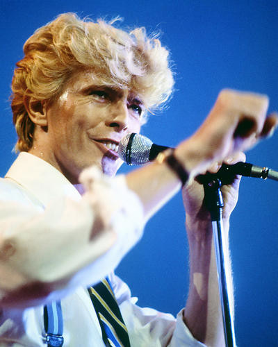 This is an image of Photograph & Poster of David Bowie 285253