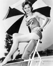 This is an image of Photograph & Poster of Debbie Reynolds 195558