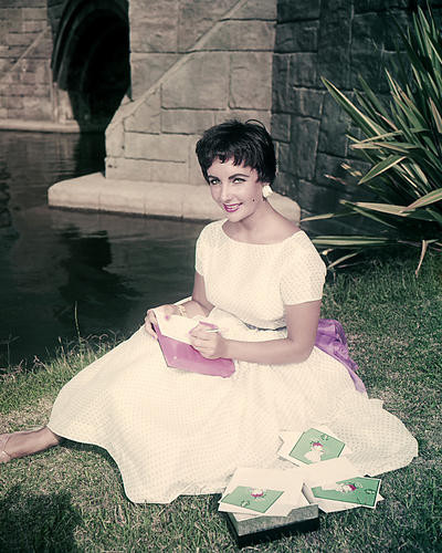This is an image of Photograph & Poster of Elizabeth Taylor 285321