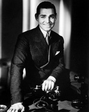 This is an image of Photograph & Poster of Clark Gable 195632