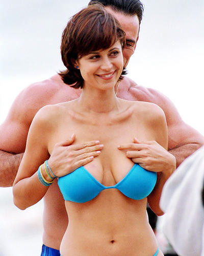Movie Market - Photograph  Poster Of Catherine Bell 285700