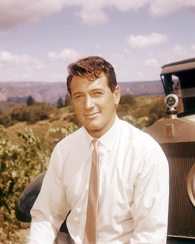 This is an image of Photograph & Poster of Rock Hudson 291137