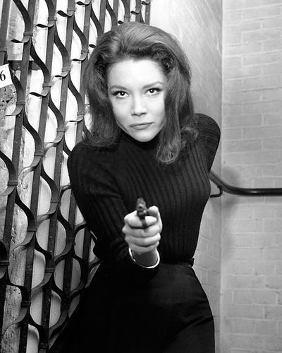 This is an image of Photograph & Poster of Diana Rigg 199946