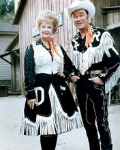 This is an image of Photograph & Poster of Roy Rogers and Dale Evans 292589