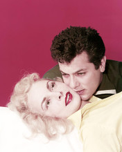This is an image of Photograph & Poster of Tony Curtis and Janet Leigh 293561