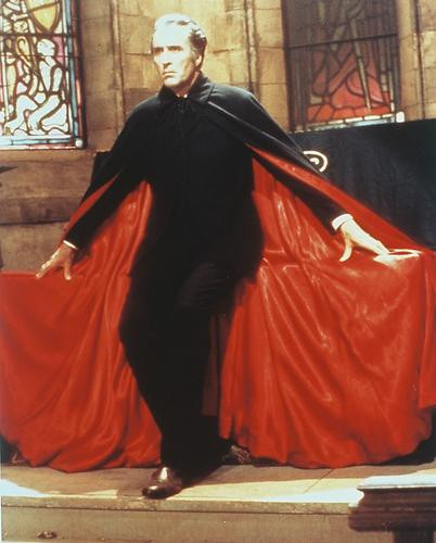 This is an image of Photograph & Poster of Christopher Lee 231072