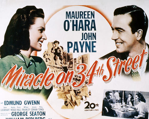 This is an image of Photograph & Poster of Miracle on 34th Street 295029