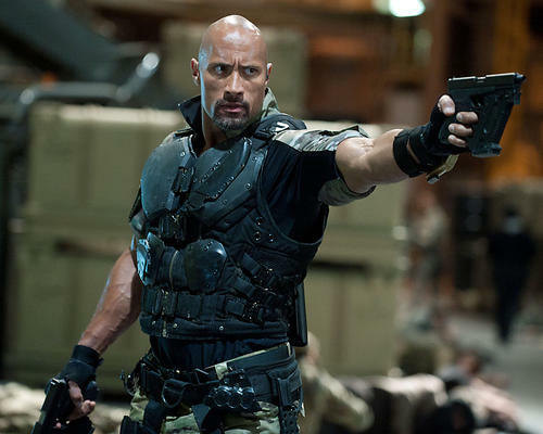 This is an image of Photograph & Poster of Dwayne Johnson 294630