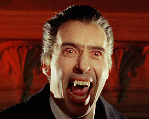 This is an image of Photograph & Poster of Christopher Lee 296144