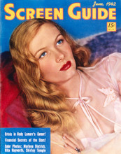 This is an image of Vintage Reproduction of Veronica Lake 297299