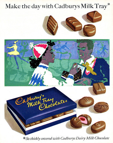 This is an image of Vintage Reproduction of Cadbury's Milk Tray 297301