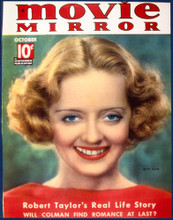 This is an image of Vintage Reproduction of Bette Davis 297310