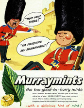 This is an image of Vintage Reproduction of Murraymints 297315