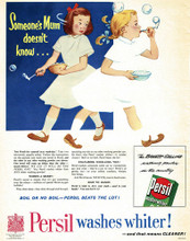 This is an image of Vintage Reproduction of Persil 297324