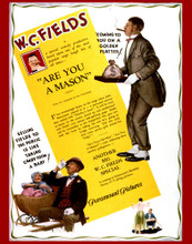 This is an image of Vintage Reproduction of W.C. Fields 297339