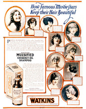 This is an image of Vintage Reproduction of Shampoo 297340