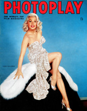 This is an image of Vintage Reproduction of Mamie Van Doren 297345