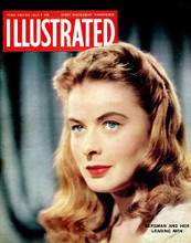 This is an image of Vintage Reproduction of Ingrid Bergman 297364